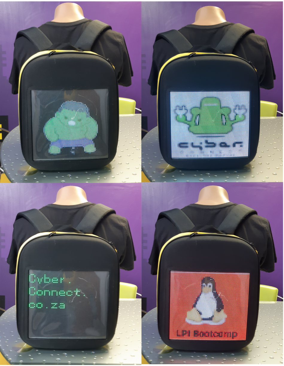 LED Backpack (Digital Display)