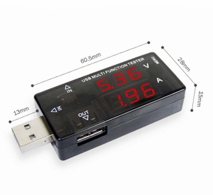 USB Current Voltage Meter Tester