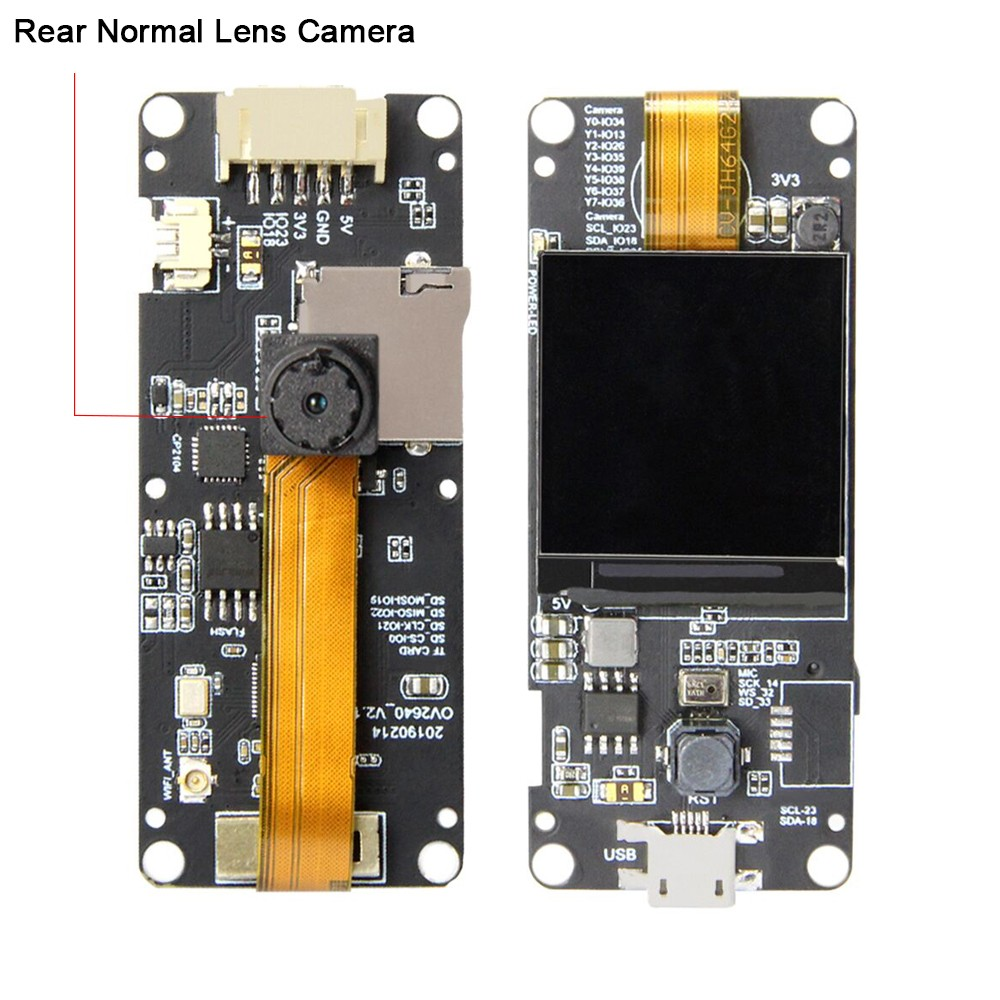 LilyGo T-Camera Plus (ESP32-DQWODQ6)
