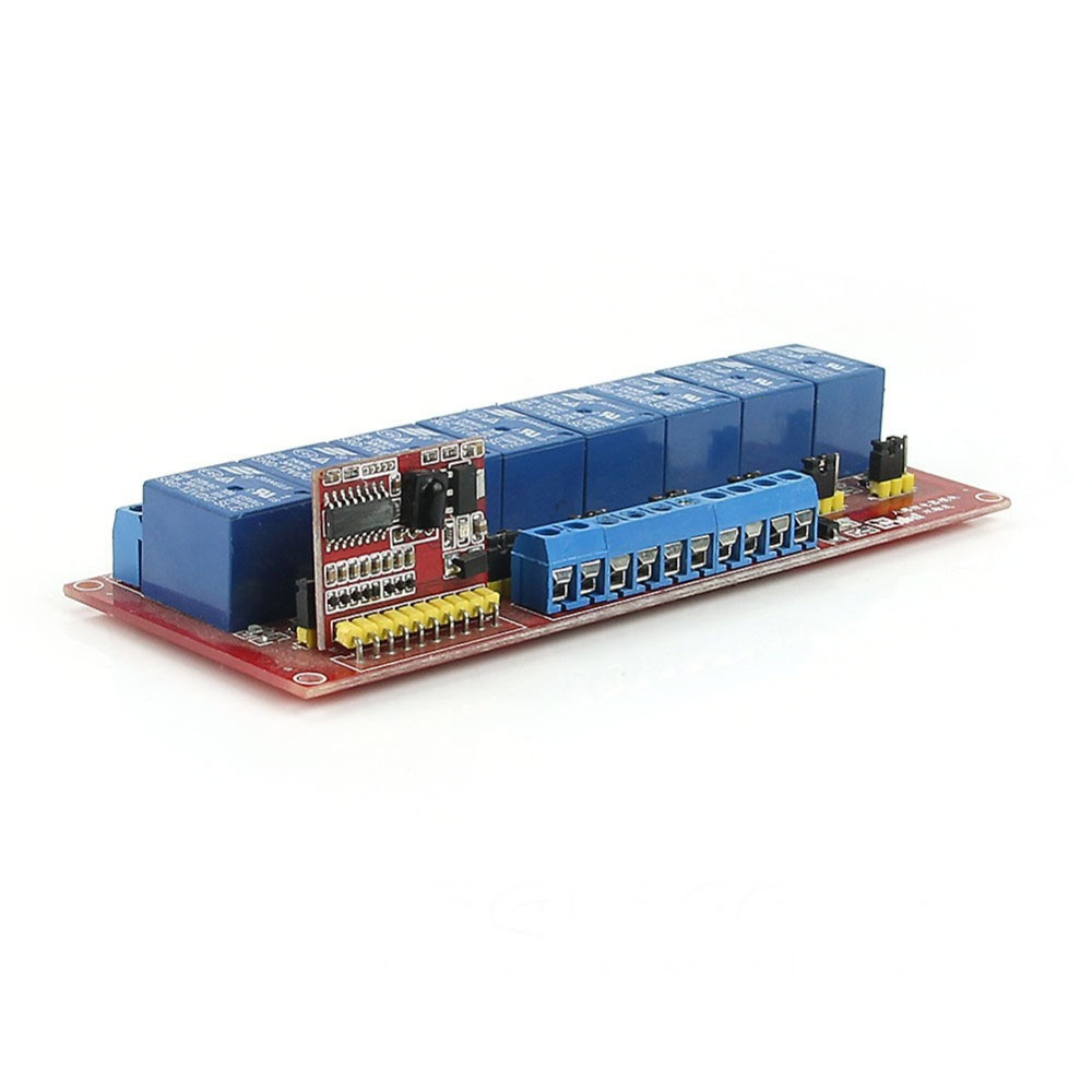 1/2/8 channel Infrared Remote Control Relay Module