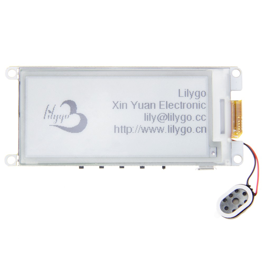 "LILYGO TTGO T5 V2.2 ESP32 2.9"" EPaper Plus Module E-Ink Speakers"