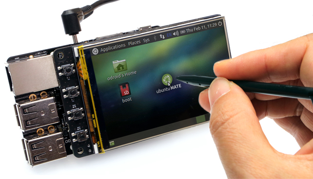 "ODROID LCD 3.5"" Touch Screen"